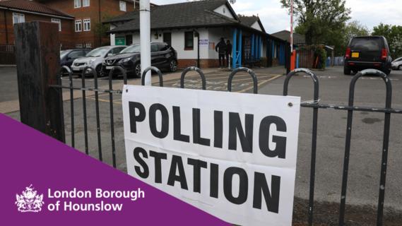 Hounslow polling station