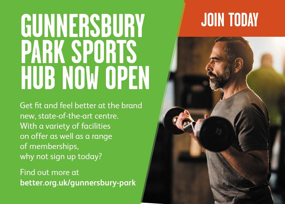 Gunnersbury Park sports hub sign up