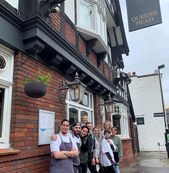 The Queen's Head pub, Shop Local Campaign