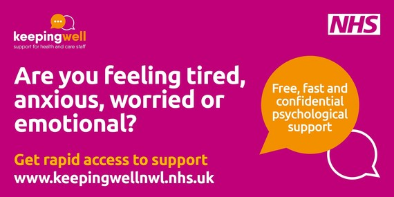 Keeping well, support for health and care staff