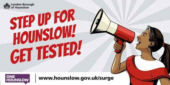Step Up For Hounslow! Get tested (female)