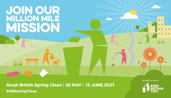 Keep Britain Tidy, Great British Spring Clean