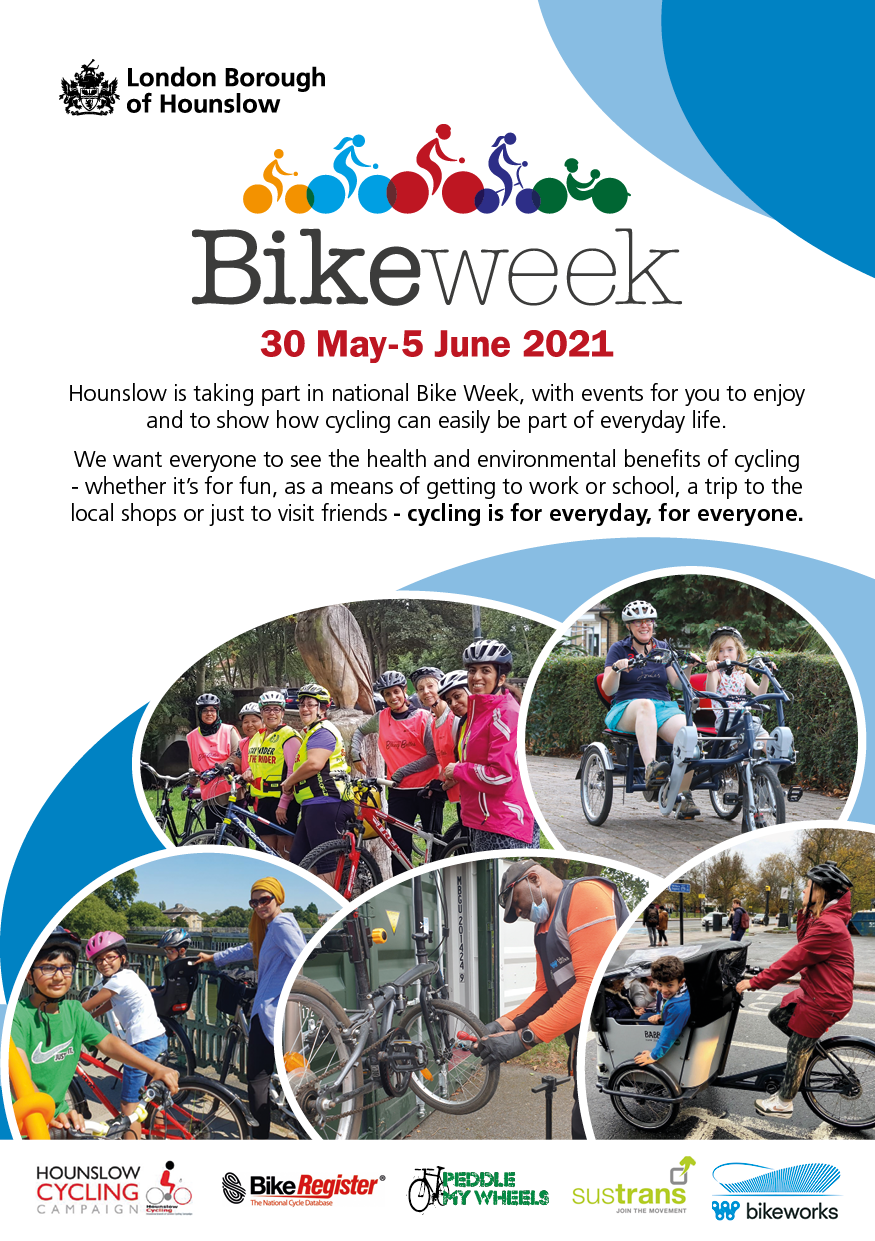 National Bike Week 30 May to 5 June