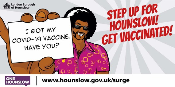 Step Up for Hounslow I Got My Vaccine