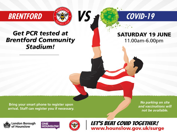 Tackle COVID with Brentford FC