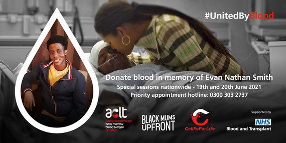 United by blood - NHS blood donation drive