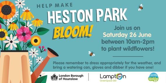 Heston Park - Flowers Planting Session