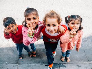 unnamed refugee kids
