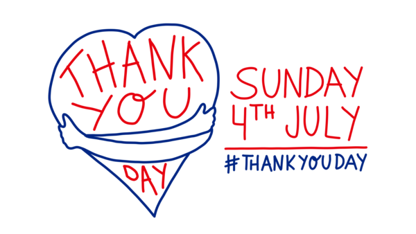 Thank you day Sunday 4 July
