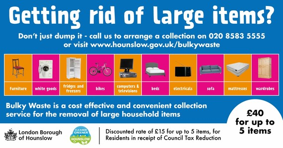 Hounslow Council bulky waste service