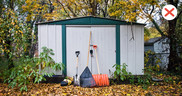 Shed and garage safety