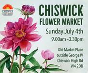Chiswick Flower Market Sunday 4 July
