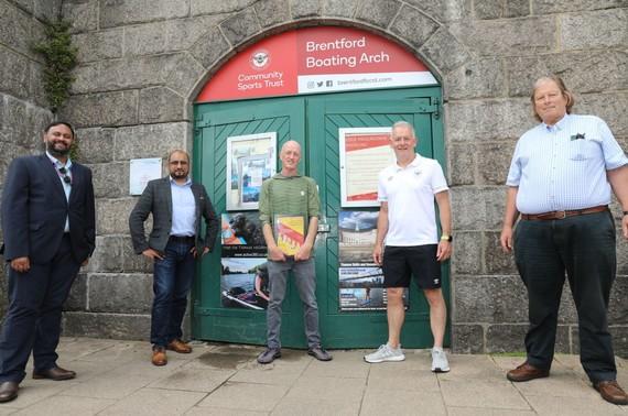 Arch Day 2021, Cllr Hanif Khan, Cllr Shantanu Rajawat and Cllr Guy Lambert visit Active360