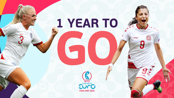 Women's EURO 2022 one year to go