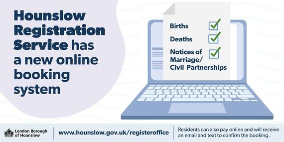 Registration services goes online