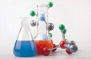 Vials and molecular structure