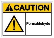 Caution! Formaldehyde
