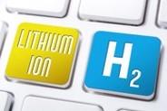 Hydrogen displayed as keys on a keyboard