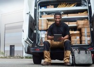 male delivery driver