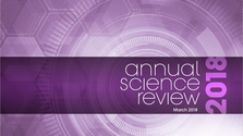 Annual Science Review 2018
