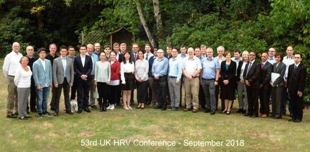 53rd UK HRV Conference