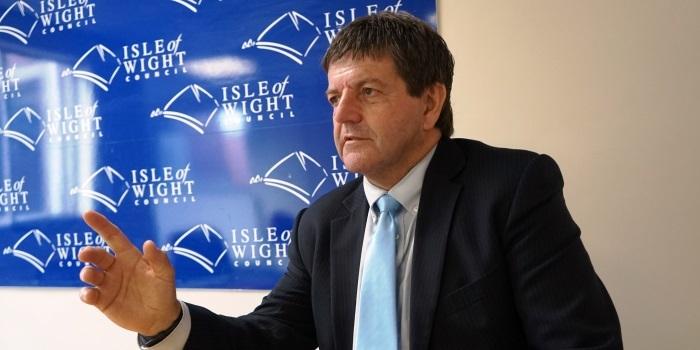 Dave Stewart, council leader