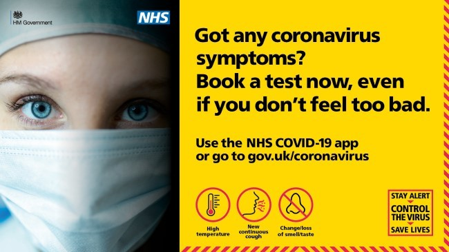 COVID-19 symptoms get a test