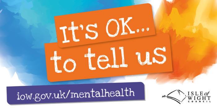 It's ok to tell us - Mental health survey