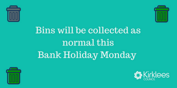 Bank holiday bins