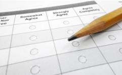 Tick sheet survey