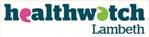 health watch lambeth logo