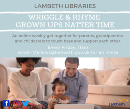 Wriggle and Rhyme Grown Ups Natter Time