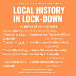 History Talks June