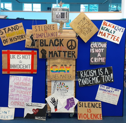 Black Lives Matter: Signs and placards from a summer of protest
