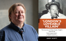 London's Loveable Villain with author Andy Scott