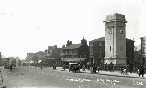 Stockwell war memorial unveiled 1921 4954 Lambeth Archives
