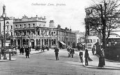 Coldharbour Lane street scene in 1905