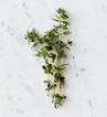 thyme herb on a table