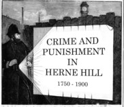 Crime and Punishment in Herne Hill book cover