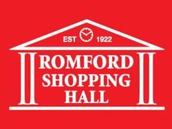 Romford Shopping Hall red logo