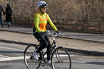 cycle helmet and hi viz