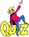 quiz man on word