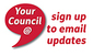 sign up to email updates