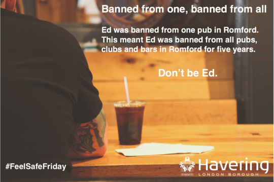 Feel safe Friday banned from one