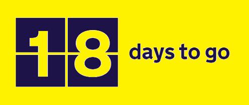 18 days graphic