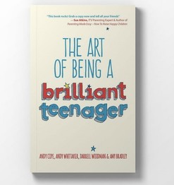 Diary of a brilliant teenager book cover image
