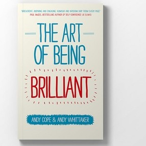 Art of being brilliant book cover