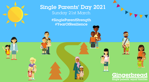 Single Parents' Day Gingerbread image