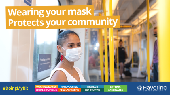 Wear a mask DMB image