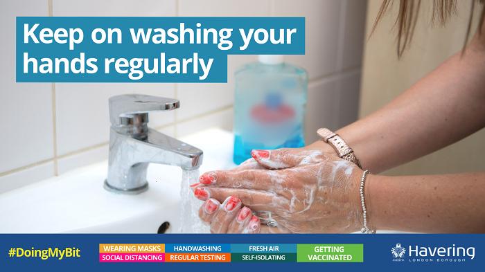 DMB hand washing